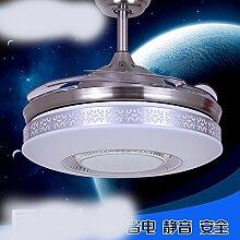 SDKKY deckenventilator, ventilator, anhänger einer lampe, unsichtbar, deckenventilator, modernen wohnraum mit lampe, deckenventilator, grieß anhänger lampe,wand - kontrolle