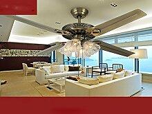 sdkky im europäischen Stil Fan Lampe, Wohnzimmer