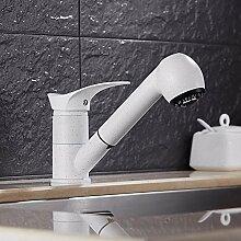 SDKKY Küche Wasserhahn, heiße und kalte Teller Waschbecken Armatur, Wasserhahn im Europäischen Stil