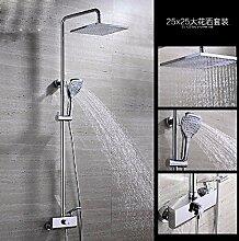 SDKKY Kupfer Dusche, Dusche, Armatur, Badewanne