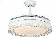 SDKKY moderne chinesische fan - lampe mit fan - ventilator lampe, decke ventilator kronleuchter weiße licht restauran