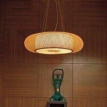 SDKKY-Restaurant Bambus Lampe im Wohnzimmer