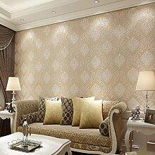 SDKKY Stereo Anaglyph nonwoven Schlafzimmer Wohnzimmer TV Hintergrund Tapete, 1, 53 * 1000 Dekorative Wandpapier