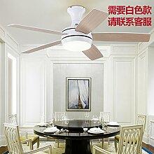SDKKY ventilator lampe, lampe, 52 - zoll - fan - restaurant der fan mit fan - kronleuchter lampe,a wall - kontrolle