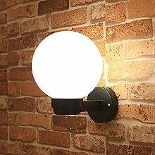 SDKKY Wasserdichte Outdoor Lampe LED Kugel Lampe