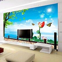 SDKKY Wohnzimmer Sofa - Antifouling antibakterielle Selbstklebende Tapete für 3D Preise pro Quadratmeter, Bild Farbe Dekorative Wandpapier