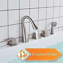 SDMQW Duschsystem An Deck montierter Wannenarmatur