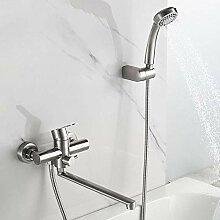 SDMQW Duschsystem Bad Duscharmaturen Set Badewanne