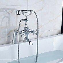 SDMQW Duschsystem, Chrom, poliert, für die