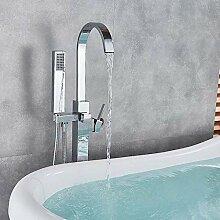 SDMQW Duschsystem Gebürstetem Nickel Badewanne