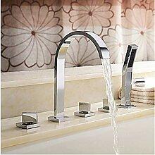 SDMQW Duschsystem mit DREI Griffen, Bthroom Wanne