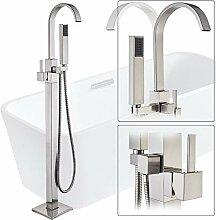 SDMQW Duschsystem Nickel gebürstet Badewanne