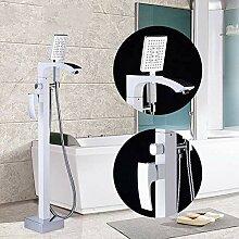 SDMQW Duschsystem Stehende Badewanne Wasserhahn
