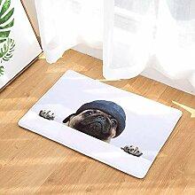 SDXGCFV Niedlichen Hund Bodenmatte Tiere Gedruckt