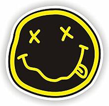 Sea view Stickers Nirvana Smiley, Auto Van Aufkleber