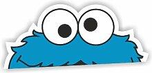 Sea view Stickers Peeping Cookie Monster Sesam Street Auto Van Aufkleber