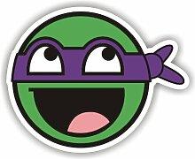 Sea view Stickers Teenage Mutant Ninja Turtle lila Auto Van Aufkleber