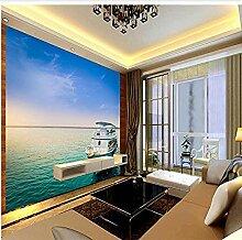 Sea Yacht für Wände Wandbilder Tapete