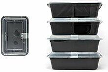 Seacoast Bento Lunchbox, 1 Fach mit transparentem