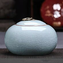 Sealed Ceramic Tea Caddy, bewegliche Haushalt