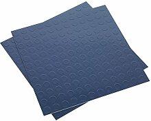 SEALEY ft2b Vinyl Bodenfliesen mit Schale & Stick Unterstützung–Blau 16Stück