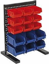 SEALEY tps1569Bin Storage System Bench Befestigung 15Abfalleimer