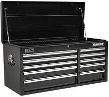 SEALEY Werkzeugkiste ap41110b 10Schubladen mit