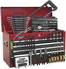 SEALEY Werkzeugkiste/grau 6Schubladen mit