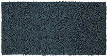 Sealskin 294641421 Badteppich Twist Badteppich, Stoff, Blau, 120 x 60 x 3 cm