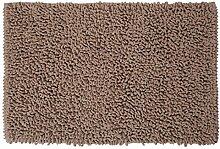 Sealskin 294643665 Badteppich Twist Badteppich, Stoff, Sand, 90 x 60 x 3 cm
