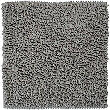 Sealskin Badteppich Twist, grau, 60 x 60 cm