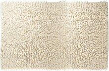 Sealskin Badteppich Velce, Chenille, beige, 60 x