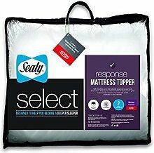 Sealy Select Antwort Matratzenauflage, weiß, Super King