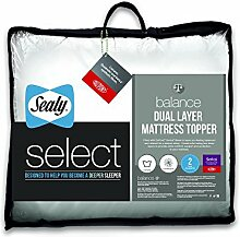Sealy Select Balance Dual Layer Matratzenauflage, weiß, King