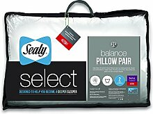 Sealy Select Balance Kissen, Weiß, Microfaser,