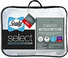 Sealy Select Balance Matratzenschoner, Einzelbett, weiß