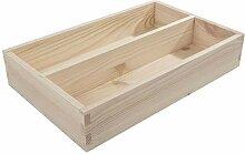 Search Box Kleiner Besteckkasten aus Holz mit 2
