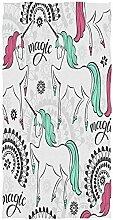 Searster$ Hand Towel Nettes Einhorn-Handtuch