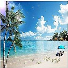 Seaside Beach Kokospalme für Wände Wandbilder