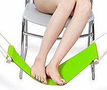 SEASOFBEAUTY Verstellbare Fuß Hängematte unter dem Schreibtisch Bibliothek Büro Studierzimmer Zuhause