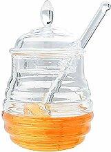 Seasoning Honey Juice Bottle, transparentes