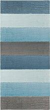 Sebra Gewebter Teppich 180x80 Cloud Blue (l)