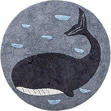 Sebra - Kinderzimmer-Teppich - Marion der Wal -