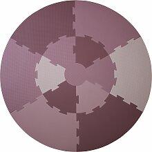 Sebra Puzzle Spielmatte Rosa (Ø) 122 Cm