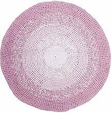 Sebra Teppich aus 100% Baumwolle Gradient Rose mit