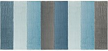 Sebra Teppich, gewebt, Cloud Blue