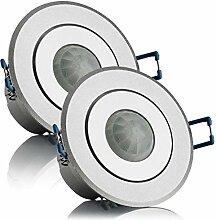 SEBSON® Bewegungsmelder Innen Unterputz LED