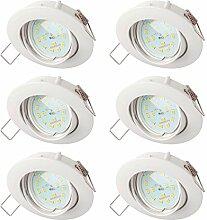 SEBSON® Einbauleuchte inkl. LED Modul 5W Ra95