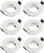 SEBSON Einbauleuchte weiß / Einbaustrahler (LED /