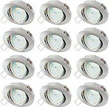 SEBSON® Einbaustrahler inkl. LED Modul 5W Ra95